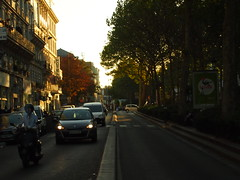 Boulevard as sun sets (francisco.j.gonzalez) Tags: paris france frankreich frana francia pars parigi pariz