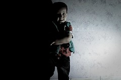 Boy .. (Mjnoon.Maha) Tags: light boy portrait white black boys kids kid
