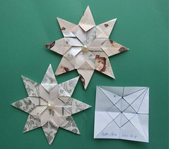 Sylter Stern - Star Sylt (Vielfaeltig2010) Tags: stars star origami stern sterne origamistar papierfalten origamistern vielfaeltig2010 sylterstern starsylt
