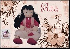 Rita - 103 - (Luciana Dollsmaker) Tags: doll arte bambini rag serie ragdoll bambole gioco giocattoli hobbie stoffe artigianato cucito infanzia bamboledipezza bamboline hobbistica lavorifattiamano