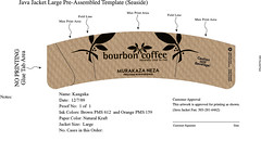 Bourbon Coffee Cup Sleeve 12