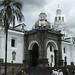 O Centro Histórico ocupa metade da cidade - Quito