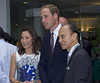 Michelle Yeoh and Prince William, Duke of Cambridge Prince William, Duke of Cambridge and Catherine, Duchess of Cambridge aka Kate Middleton attend a reception in Kuala Lumpur