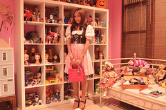 going to oktoberfest 2012 (girl enchanted) Tags: bear pink white love ikea vintage toy toys doll dolls chaos bears disney shelf collection insanity kenner collectible brand handbag mattel clutter dior dollhouse dollies 2012 toyroom expedit blythes dollroom inarush dindrl dollyroom ladydiorbag