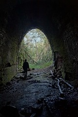 Entering abandoned and haunted railroad tunnel (Stephen Little) Tags: sigma18250 sigma18250mm sigma18250mmf3563 sigma18250mmf3563dcoshsm sonya77 jstephenlittlejr sigma18250mmf3563dcoshsm880205 slta77 sonyslta77 sonyslta77v sonyalphaslta77v