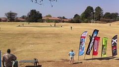 Wyndham getting run out at the St David's T20 Cricket Tournament (Vaughanoblapski!) Tags: cricket stdavids wyndham t20 runout