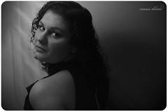 366 project | 265/366 (@agirafinha) Tags: light bw woman white black luz branco project eyes olhar mulher pb preto e iluminao 366 265366