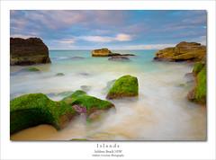 Islands (Mathew Courtney) Tags: seascape water sunrise rocks nsw centralcoast soldiersbeach