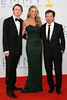 Sam Fox, Tracy Pollan and Michael J. Fox 64th Annual Primetime Emmy Awards, held at Nokia Theatre L.A. Live - Arrivals Los Angeles, California