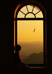 Sunset at Sajjangarh Palace - High at Aravalli Hills (eduhhz) Tags: india accepted1of100 challengeyouwinner duetos frenteafrente thechallengefactory micarttttworldphotographyawards micartttt herowinner ultraherowinner pregamewinner potd:country=es