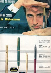 vintage ad match fountainpen waterman the60s vintagead vintagemagazine the1960s watermanfountainpens vintagefountainpen vintagefrenchmagazine vintageadforfountainpens 1960match