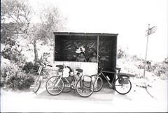ombra (francesco.dellanoce) Tags: shadow sun bus ombra bikes stop bici sole luce fermata cefalonia