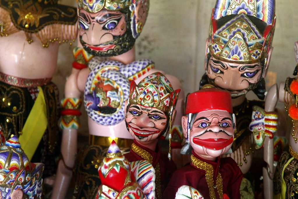 Puppets, Pangandaran, West Java, Indonesia
