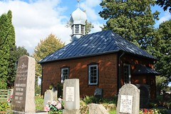 Niemie (Nemis), Lithuania (Litwa, Lietuva) (LeszekZadlo) Tags: summer house building home architecture countryside europe village traditional culture eu mosque tradition lithuania ue cementery lietuva mizar litwa