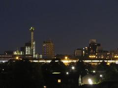 Nijmegen, skyline rond Tunnelweg (Stewie1980) Tags: netherlands station skyline night canon nijmegen evening view nacht nederland powershot highrise avond gelderland nimwegen hoogbouw sx130 tunnelweg nimgue sx130is canonpowershotsx130is