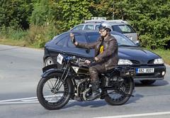 Rudge Whitworth 350 (1924) (The Adventurous Eye) Tags: classic car race climb do hill brno 350 rallye whitworth 1924 rudge závod soběšice vrchu brnosoběšice