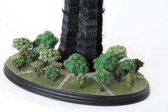 Isengard, pre-ruin (marvelousRoland) Tags: lordoftherings collectible tolkien weta blacktower orthanc isengard