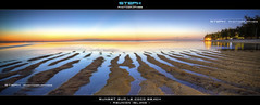 Sunset sur le Coco Beach (Steph Photographies) Tags: sunset panorama beach reunion de la raw ile coco plage runion hdri 974 stephphotographies httpwwwstephphotographiescom