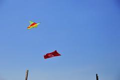 Kelantan's Flag (eternal_ag0ny) Tags: sky kite seaside nikon wind flag malaysia minimalism nikkor layang pcb pantai cahaya kelantan bulan wau hoilday 18200mm d300s