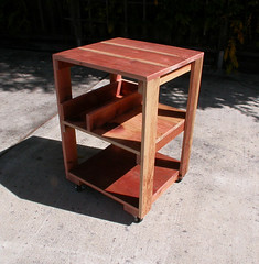 "Redwood Work Table • <a style=""font-size:0.8em;"" href=""https://www.flickr.com/photos/87478652@N08/8055854301/"" target=""_blank"">View on Flickr</a>"