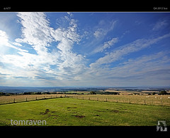Breathe In The Big Sky (tomraven) Tags: sky clouds bay view sony hill sigma bluesky vista bigsky alpha viewpoint moray firth a77 forres morayfirth findhorn findhornbay tomraven bestcapturesaoi aravenimage califerhill q42012