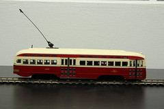 IMG_6911 (SSP Tony) Tags: model bowser ttc trains transit ho streetcar pcc hoscale torontotransitcommission presidentsconferencecommittee