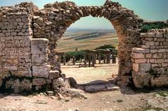 Dougga 2002 On Film HDR [Explore] (It's my whole damn raison d'etre) Tags: africa 2002 film alex 35mm ancient ruins kodak roman tunisia north experiment hdr dougga erkiletian