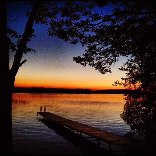 Lake Leelanau Sunset