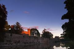 Twilight (Neil Clark) Tags: uk greatbritain twilight wells somerset moat bishopspalace