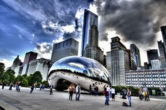 "Cloud Gate ""Bean"" (theo0023) Tags: chicago reflections illinois searstower grantpark millenniumpark theloop cloudgate johnhancock thebean hdr johnhancockbuilding chicagoskyline chicagoillinois windycity thewindycity hdrphotography millenniumparkchicago hdrphotos chicagoskyscrapers hdrpictures willistower nikond5100"