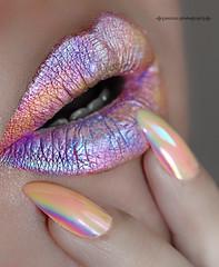 Iridescent (Minaficent) Tags: art lip iridescent unicorn lipart