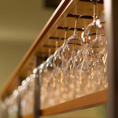Have a Glass (mclcbooks) Tags: wineglasses glassware stemware bokeh restaurant bar