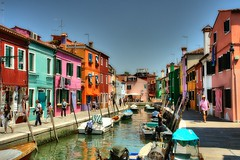 Burano ... a city showing color (CardCollector & HobbyPhotographer) Tags: italy burano sonydscr1