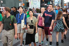 Times Square people August 2016 (zaxouzo) Tags: timessquare august 2016 nikond90 people public street fashion candid nyc outdoor