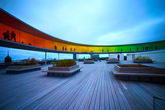 ARoS Aarhus Art Museum (Claudio IT) Tags: arosaarhusartmuseum aros aarhus art museum danimarca denmark arcobaleno museo panorama grandangolo wideangle landscape roof tetto rainbow sony sony1018mm sel1018 sonya7m2