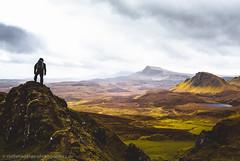 Wanderlust (Steffen Walther) Tags: 2016 reise schottland travel scotland skye highlands steffenwalther reisefotolust canon5dmarkiii canon1740l mountains quiraing trotternish hebrides lake road hiking trekking green vibrant clouds landscape nature