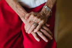 time (vegan.chef.steph.) Tags: senior growingup grandma grandmother hands wrinkles age time life memories grandparents enjoylife