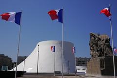 liberte fraternite egalite - Volcan - Le Havre (p.niebergall) Tags: oscar niemeyer liberte fraternite egalite volcan le havre frankreich normandie