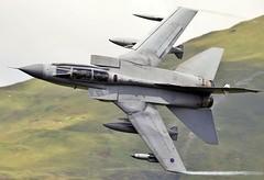Lifting over the lake (Dafydd RJ Phillips) Tags: aircraft military jet combat mach loop low level royal air force raf marham panavia tornado gr4