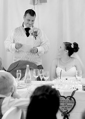 The Big Speech (@AnnerleyJphotos) Tags: wedding marriage coventry july summer midlands uk windmillvillagehotel westmidlands midland westmildands windmillvillage hotel bw blackwhite blackandwhite monochrome bride groom speech anticiptation love funny happiness humour bliss happy memory annerleyjohnson annerleyjphotos bnw mono