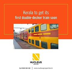 The railways is all set to introduce the first ever double-decker superfast express (Uday) train service connecting Kerala.  The new double-decker train service connecting Chennai to Thiruvananthapuram twice a week, will be announced along with the new ra (nucleusproperties) Tags: life beautiful kochi elegant style trivandrum kerala realestate train railways lifestyle india news luxury comfort railwaystation architecture interior gorgeous design elegance environment beauty building exquisite view city construction home living