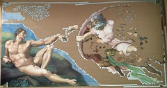 Michelangelo: The Creation of Adam - progress #10 (Danijel Legin) Tags: puzzle jigsaw ravensburger 12000 michelangelo adam