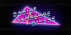 """DTR 80s Art (Daniel """"Doc"""" Rivers) Tags: 80s 1980 1980s vintage synth synthwave wave totally rad robert parker timecop fm84 new retro golden age pop neon colors fun miami nights la mid los angeles electronic boogaloo lights photoshop illustration chrome font letters design art"""