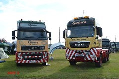 MAN TGX & Volvo FH 'Quinto' (erfmike51) Tags: volvofh mantgx artic truck lorry quinto truckfestnorwich