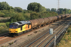 60002 682N 1354 Colnbrook Colas Rail to Lindsey Oil Refinery Colas (aledy66) Tags: 682n 1354 colnbrook colas rail lindsey oil refinery 60002 diesel freight train locomotive