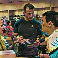 The Apple Genius (misterperturbed) Tags: apple applestore towsontowncenter prisma