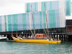 160803 Auckland-04.jpg (Bruce Batten) Tags: locations southpacificocean museums trips occasions oceansbeaches subjects reflections buildings vehicles boats businessresearchtrips tasmansea newzealand auckland nz