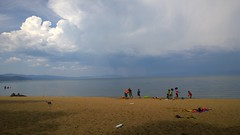 Lightning and thunder caused us to leave early (glitzypursegirl) Tags: tahoe popebeach southlaketahoe california thunder clouds summer 2016 laketahoe mountainlake