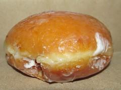 Krispy Kreme Glazed Cream Filled Doughnut close up (Pest15) Tags: krispykreme krispykremeglazedcreamfilleddoughnut creamfilleddoughnut nationalcreamfilleddonutday doughnut treat