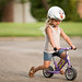 Reese Zoomin' on Her Bike